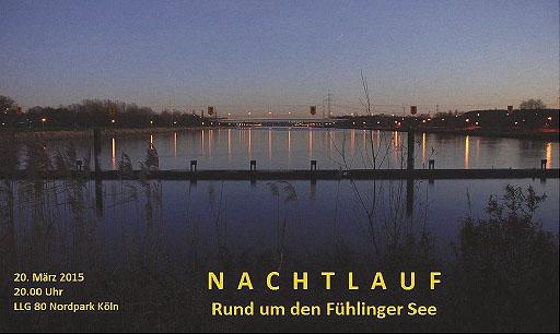 Nachtlauf Fühlinger See