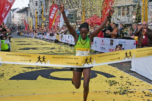 strecke deutsche post marathon